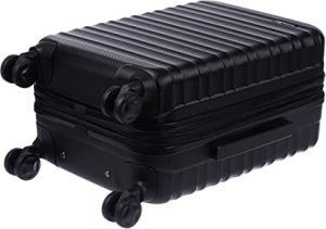 hardside luggage with spinner wheel